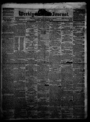 Primary view of object titled 'Weekly Journal. (Galveston, Tex.), Vol. 3, No. 29, Ed. 1 Friday, October 22, 1852'.