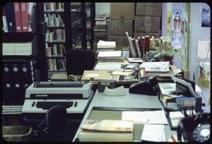 Primary view of object titled '[Library Work Spaces]'.