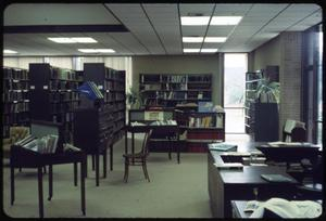 Primary view of object titled '[Unknown Library Interior #5 A]'.