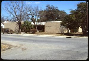 Primary view of object titled '[Luling Public Library Exterior #1]'.