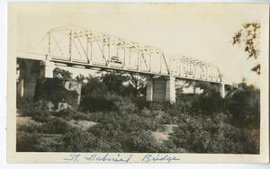 Primary view of object titled '[San Gabriel Bridge]'.