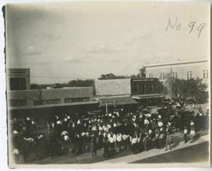 Primary view of object titled '[First Monday Trade Days, Georgetown]'.