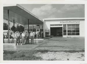 Primary view of object titled '[Arco Service Station]'.