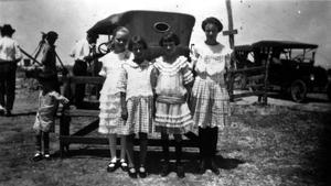 Primary view of object titled '[Cousins at the State Fair in Dallas]'.