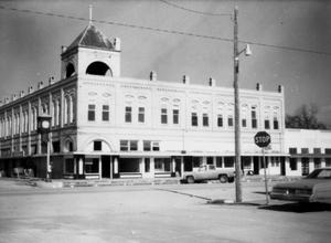 Primary view of object titled '[A.W. Storrs Opera House in Granger, TX]'.