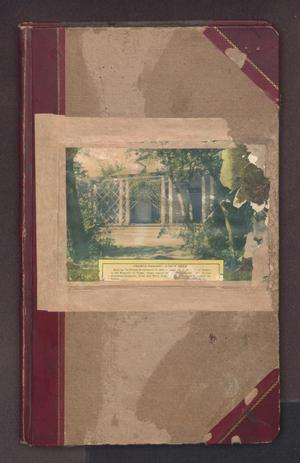 Primary view of object titled 'Miss Lillie's Guest Book'.