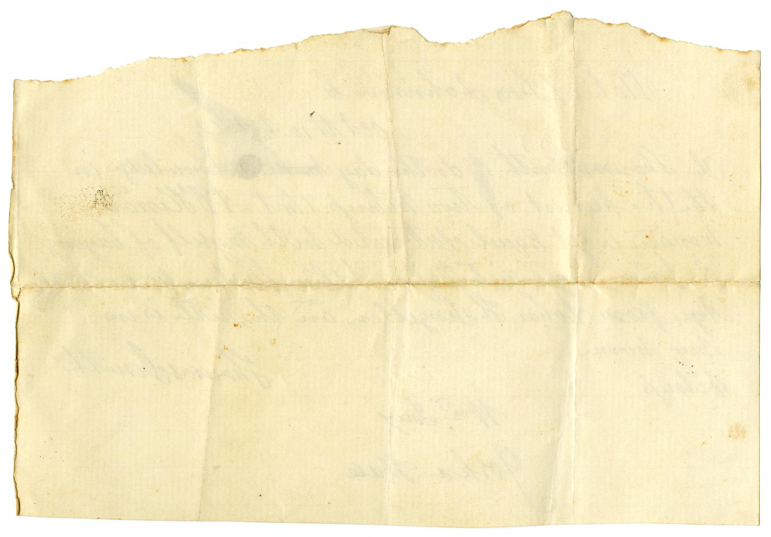 [Receipt for sale of slave to A. D. Kennard, October 10,  1842]                                                                                                      [Sequence #]: 2 of 2