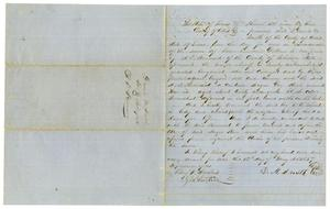 [Bill of Sale for A. D. Kennard, May 12,1857]