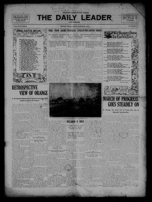 Primary view of object titled 'The Daily Leader and Tribune. (Orange, Tex.), Vol. 3, No. 18, Ed. 1 Sunday, March 20, 1910'.