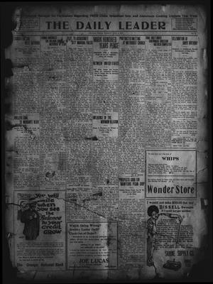The Daily Leader. (Orange, Tex.), Vol. 5, No. 73, Ed. 1 Tuesday, June 4, 1912