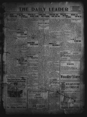 Primary view of object titled 'The Daily Leader. (Orange, Tex.), Vol. 5, No. 79, Ed. 1 Tuesday, June 11, 1912'.