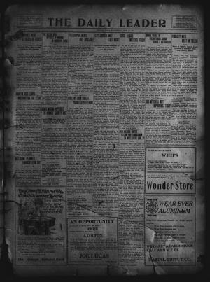 Primary view of object titled 'The Daily Leader. (Orange, Tex.), Vol. 5, No. 80, Ed. 1 Wednesday, June 12, 1912'.