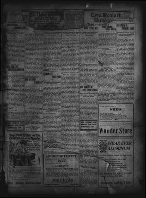 Primary view of object titled 'The Daily Leader. (Orange, Tex.), Vol. 5, No. 81, Ed. 1 Thursday, June 13, 1912'.