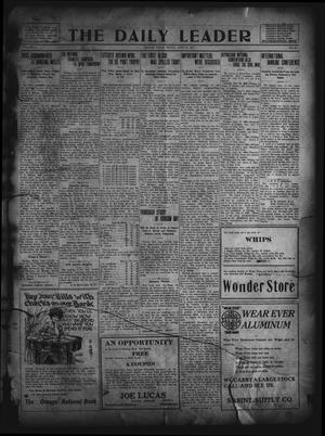 Primary view of object titled 'The Daily Leader. (Orange, Tex.), Vol. 5, No. 82, Ed. 1 Friday, June 14, 1912'.