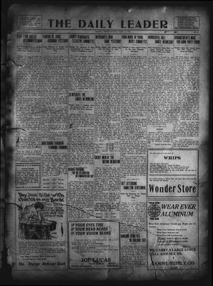 Primary view of object titled 'The Daily Leader. (Orange, Tex.), Vol. 5, No. 84, Ed. 1 Monday, June 17, 1912'.
