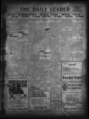 Primary view of object titled 'The Daily Leader. (Orange, Tex.), Vol. 5, No. 85, Ed. 1 Tuesday, June 18, 1912'.