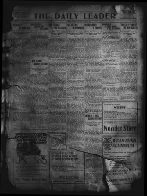 Primary view of object titled 'The Daily Leader. (Orange, Tex.), Vol. 5, No. 89, Ed. 1 Saturday, June 22, 1912'.