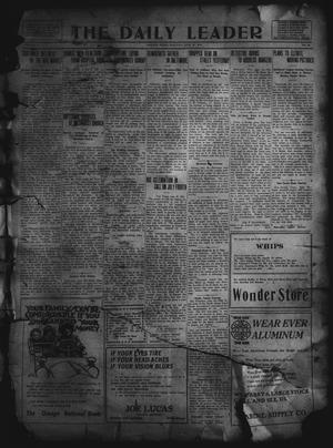 Primary view of object titled 'The Daily Leader. (Orange, Tex.), Vol. 5, No. 90, Ed. 1 Monday, June 24, 1912'.