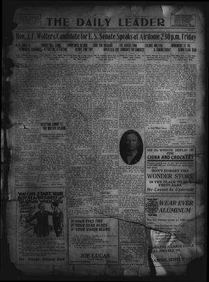 Primary view of object titled 'The Daily Leader. (Orange, Tex.), Vol. 5, No. 92, Ed. 1 Wednesday, June 26, 1912'.