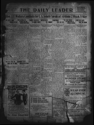 Primary view of object titled 'The Daily Leader. (Orange, Tex.), Vol. 5, No. 93, Ed. 1 Thursday, June 27, 1912'.