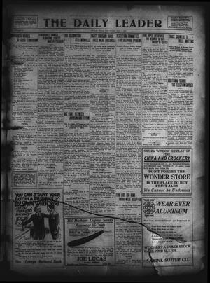 The Daily Leader. (Orange, Tex.), Vol. 5, No. 98, Ed. 1 Wednesday, July 3, 1912