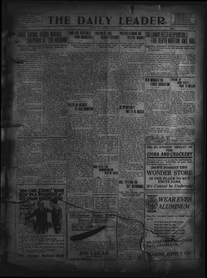 Primary view of object titled 'The Daily Leader. (Orange, Tex.), Vol. 5, No. 102, Ed. 1 Tuesday, July 9, 1912'.