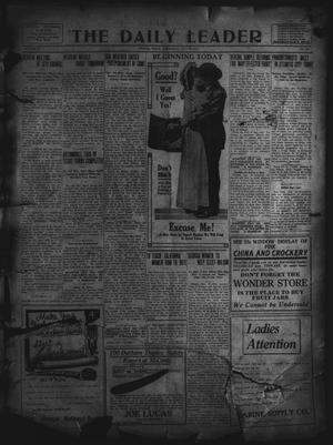 Primary view of object titled 'The Daily Leader. (Orange, Tex.), Vol. 5, No. 103, Ed. 1 Wednesday, July 10, 1912'.