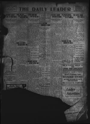 Primary view of object titled 'The Daily Leader. (Orange, Tex.), Vol. 5, No. 104, Ed. 1 Thursday, July 11, 1912'.