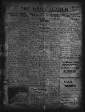 Primary view of object titled 'The Daily Leader. (Orange, Tex.), Vol. 5, No. 106, Ed. 1 Saturday, July 13, 1912'.