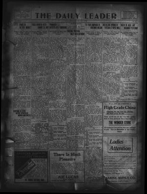 Primary view of object titled 'The Daily Leader. (Orange, Tex.), Vol. 5, No. 107, Ed. 1 Monday, July 15, 1912'.