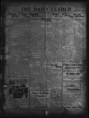 Primary view of object titled 'The Daily Leader. (Orange, Tex.), Vol. 5, No. 109, Ed. 1 Wednesday, July 17, 1912'.