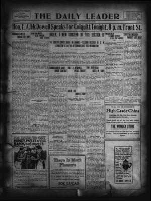 Primary view of object titled 'The Daily Leader. (Orange, Tex.), Vol. 5, No. 112, Ed. 1 Saturday, July 20, 1912'.