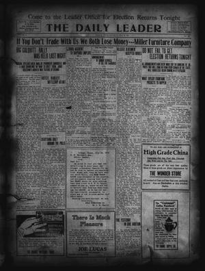 Primary view of object titled 'The Daily Leader. (Orange, Tex.), Vol. 5, No. 118, Ed. 1 Saturday, July 27, 1912'.