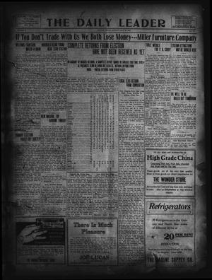 Primary view of object titled 'The Daily Leader. (Orange, Tex.), Vol. 5, No. 119, Ed. 1 Monday, July 29, 1912'.