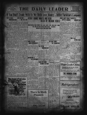 Primary view of object titled 'The Daily Leader. (Orange, Tex.), Vol. 5, No. 121, Ed. 1 Wednesday, July 31, 1912'.
