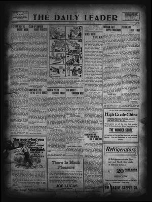 Primary view of object titled 'The Daily Leader. (Orange, Tex.), Vol. 5, No. 122, Ed. 1 Thursday, August 1, 1912'.