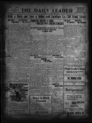 Primary view of object titled 'The Daily Leader. (Orange, Tex.), Vol. 5, No. 124, Ed. 1 Saturday, August 3, 1912'.