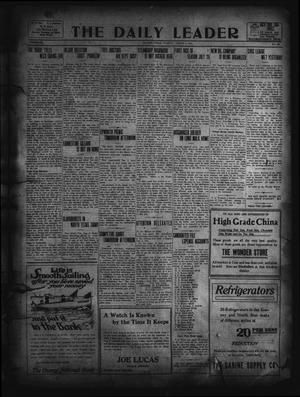Primary view of object titled 'The Daily Leader. (Orange, Tex.), Vol. 5, No. 126, Ed. 1 Tuesday, August 6, 1912'.
