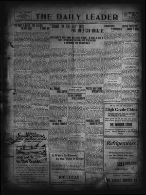 The Daily Leader. (Orange, Tex.), Vol. 5, No. 127, Ed. 1 Wednesday, August 7, 1912