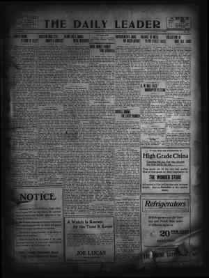 Primary view of object titled 'The Daily Leader. (Orange, Tex.), Vol. 5, No. 129, Ed. 1 Friday, August 9, 1912'.