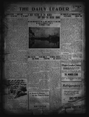 Primary view of object titled 'The Daily Leader. (Orange, Tex.), Vol. 5, No. 131, Ed. 1 Monday, August 12, 1912'.