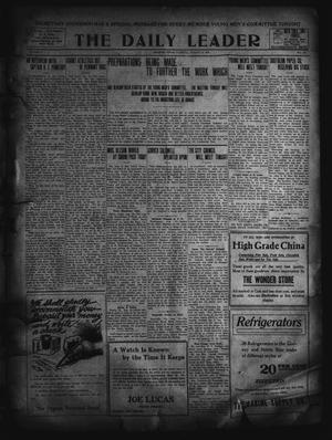 Primary view of object titled 'The Daily Leader. (Orange, Tex.), Vol. 5, No. 132, Ed. 1 Tuesday, August 13, 1912'.