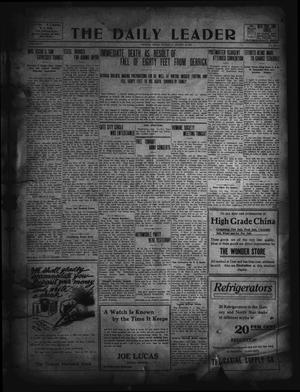 Primary view of object titled 'The Daily Leader. (Orange, Tex.), Vol. 5, No. 133, Ed. 1 Thursday, August 15, 1912'.