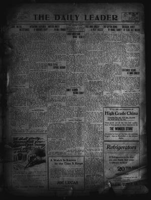 Primary view of object titled 'The Daily Leader. (Orange, Tex.), Vol. 5, No. 134, Ed. 1 Friday, August 16, 1912'.