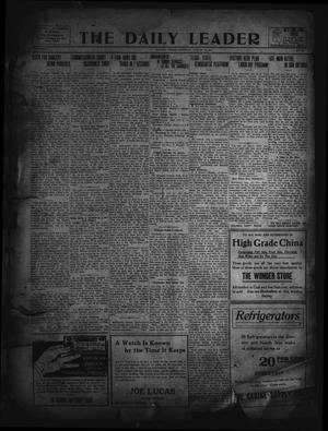 Primary view of object titled 'The Daily Leader. (Orange, Tex.), Vol. 5, No. 135, Ed. 1 Saturday, August 17, 1912'.