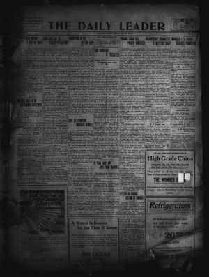 Primary view of object titled 'The Daily Leader. (Orange, Tex.), Vol. 5, No. 137, Ed. 1 Tuesday, August 20, 1912'.