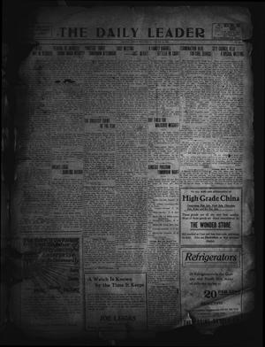 Primary view of object titled 'The Daily Leader. (Orange, Tex.), Vol. 5, No. 138, Ed. 1 Wednesday, August 21, 1912'.
