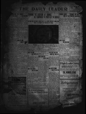 Primary view of object titled 'The Daily Leader. (Orange, Tex.), Vol. 5, No. 139, Ed. 1 Thursday, August 22, 1912'.