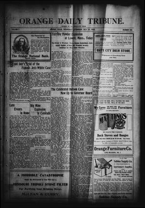 Orange Daily Tribune. (Orange, Tex.), Vol. 2, No. 106, Ed. 1 Wednesday, July 29, 1903