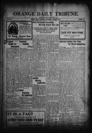 Orange Daily Tribune. (Orange, Tex.), Vol. 2, No. 112, Ed. 1 Wednesday, August 5, 1903